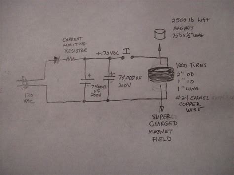 capacitor discharge magnetizer design electric magnetizer