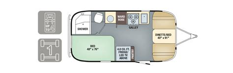 airstream trailer floor plans 2017 airstream travel trailers airstream