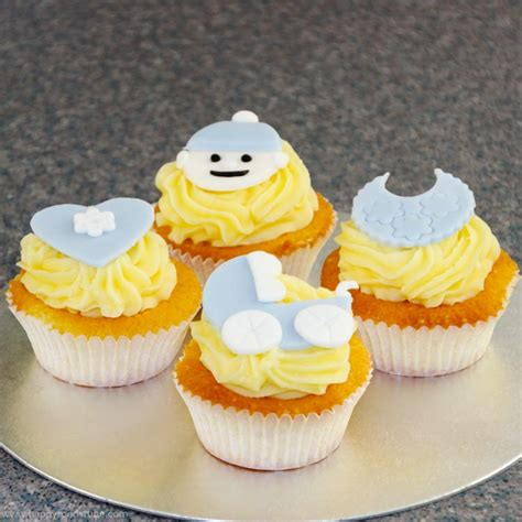 How To Make Baby Shower Cupcakes by How To Make Baby Cupcake Toppers Baby Shower