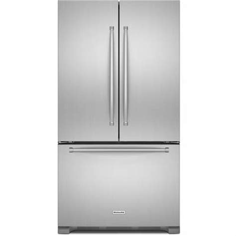 kitchenaid refrigerator door counter depth 21 9cu kitchenaid counter depth door trio