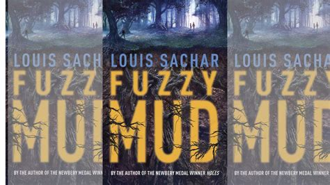 fuzzy mud wayside author louis sachar talks new books and old