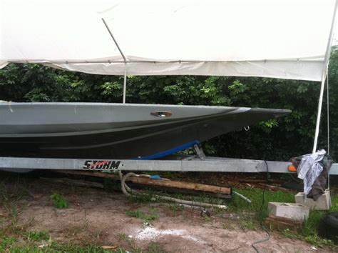 bass boat in storm 20ft storm bass flats project hull the hull truth