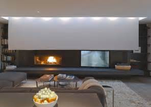 i this fireplace and tv setup for a media room with