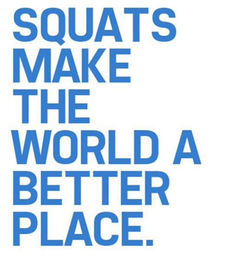 make the world a better place squat workout quotes quotesgram