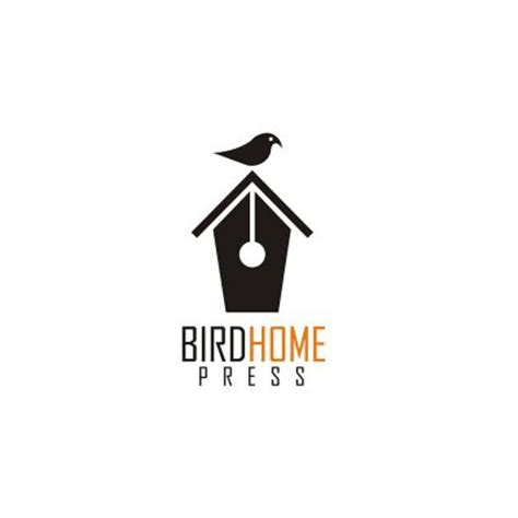 home logo design inspiration bird home press logo design gallery inspiration logomix