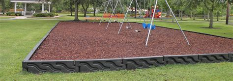 Landscape Timbers Playground Playground Safety Surfacing Ground Cover Borders A Ok