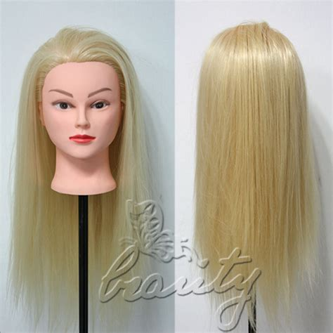 blonde mannequin hairstyles with rubber bands professional salon hairstyles 22 quot blonde 30 real hair