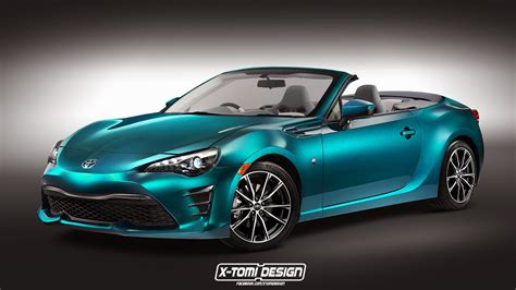 convertible toyota facelifted toyota gt 86 convertible is food for thought