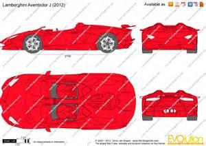 Lamborghini Aventador Blueprint The Blueprints Vector Drawing Lamborghini Aventador J