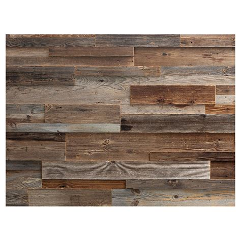 Wainscoting Panels Rona by Wood Panel Real Barn Wood 2 Quot To 10 Quot Brown Rona