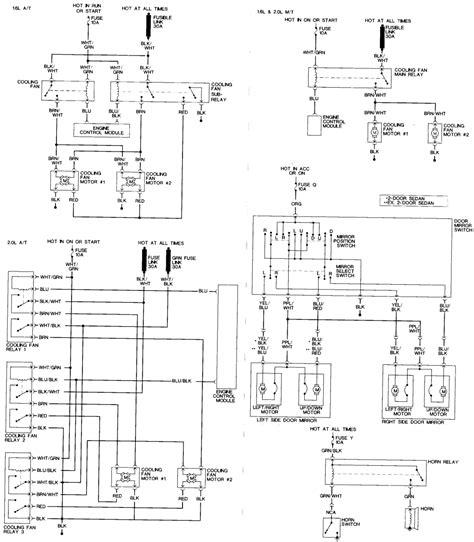 nissan sentra 1994 transmission wiring diagram nissan