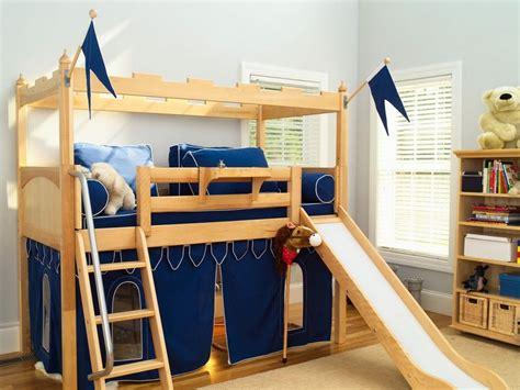boys bunk beds with slide bunk beds with slide for boys maxtrix king s castle low
