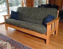 Western style futon couch