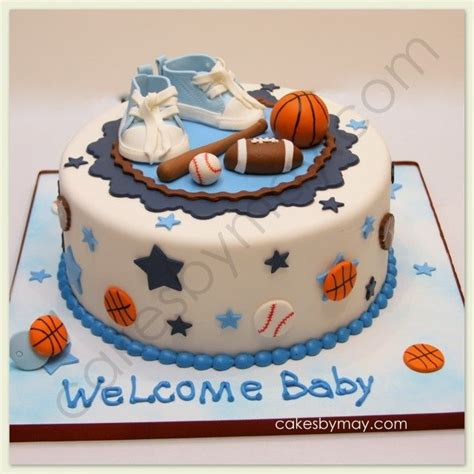 Sports Theme Baby Shower Cake by Baby Boy Sports Shower Ideas Sports Baby Shower Cake