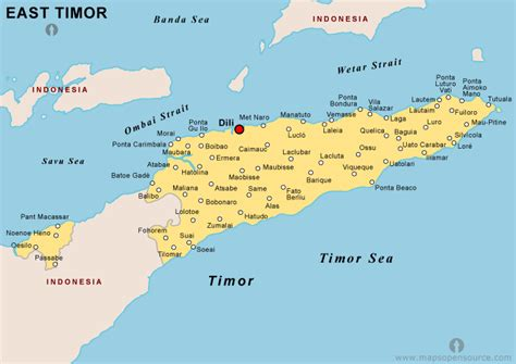 east timor maps east timor images