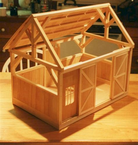 miniature woodworking projects barn for sofia s horses decoredo