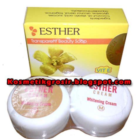 Esther Pemutih Wajah grosir kosmetik grosir pemutih wajah esther s m