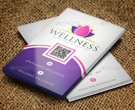 Spa Business Cards