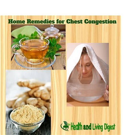 remedies for chest congestion