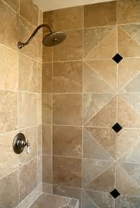 bathroom shower wall tile ideas shower designs here s a travertine tile shower wit