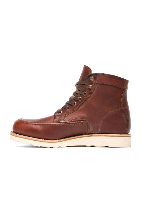 emerson boots wolverine 1000 mile emerson boot in brown for lyst