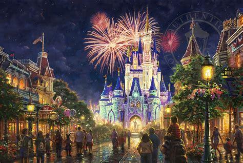 Cubic Puzzle 3d Happy Tours Amusement Park Journey u s a 174 walt disney world 174 resort the kinkade company