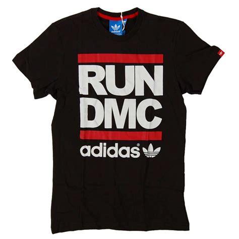 T Shirt Run Dmc Adidas adidas originals run dmc logo t shirt black mens t