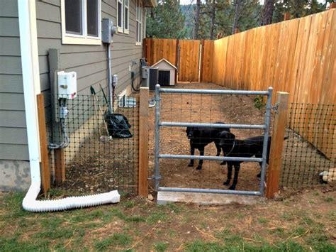 dog runner for backyard backyard dog run fence a setup your dog will enjoy pet