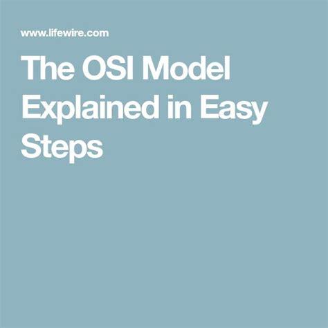 Osi Model Easy