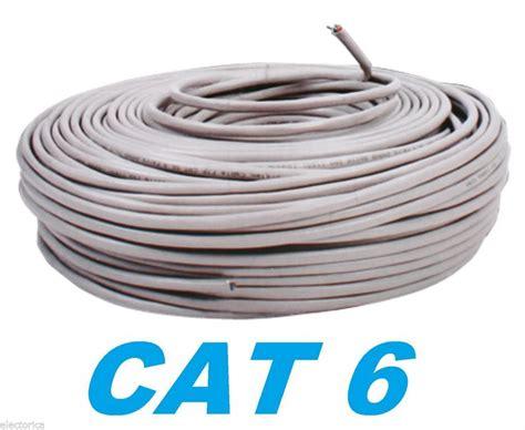 Kabel Cat 6 cat6 100 ft utp cat 6 network cable riser ethernet