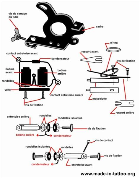 tattoo gun assembly diagram 248 best images about tattoo machines and equipment on