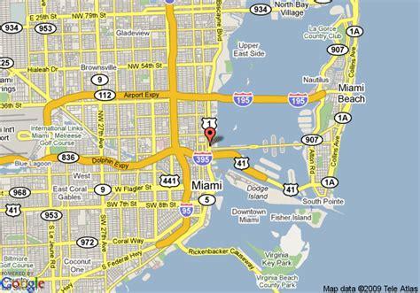 miami map florida miami florida map