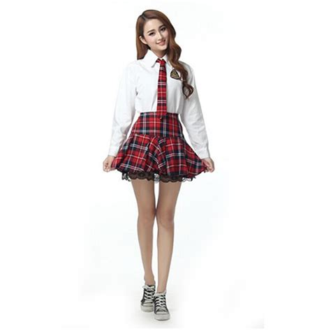 Costume Heavenly School Japanese Dress 8 school sleeved shirt student