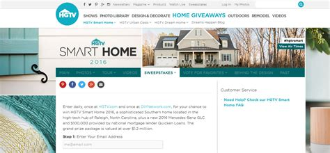 Smart Home Sweepstakes - 10 cash sweepstakes 2016 to win big money online winzily