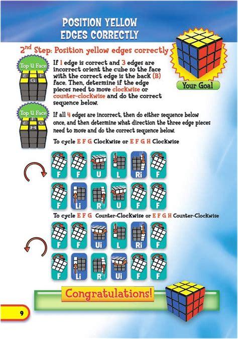 rubik cube  solution guide
