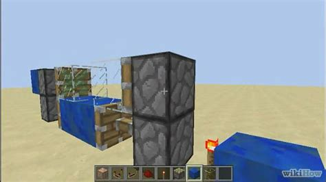 how to make an automatic piston door in minecraft 15 steps