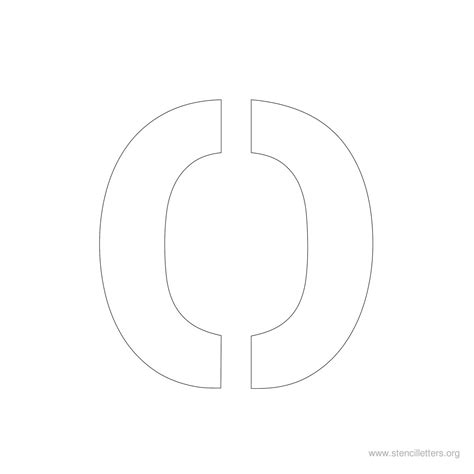 large letter templates large alphabet stencil letters style 2 stencil letters org