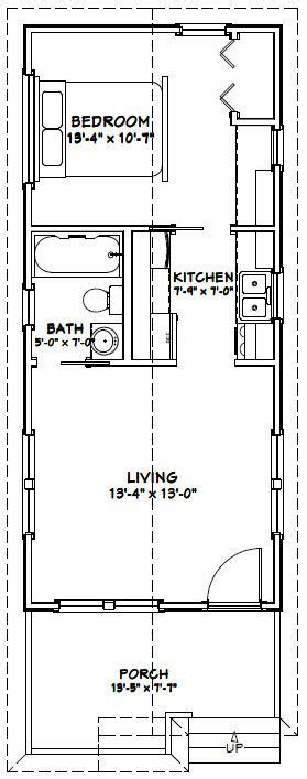 14x32 Cabin Plans by 14x32 Tiny House 14x32h1 447 Sq Ft Excellent