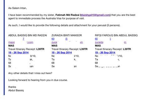 membuat visa australia online my story permohanan visa ke australia