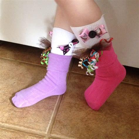 diy socks day silly sock day at school kindergarten ideas