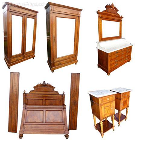 antique bedroom suites extensive walnut bedroom suite antiques atlas