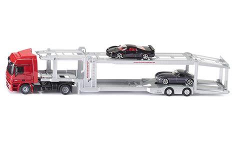 camion porte voiture jouet camion porte voitures transport chargement siku