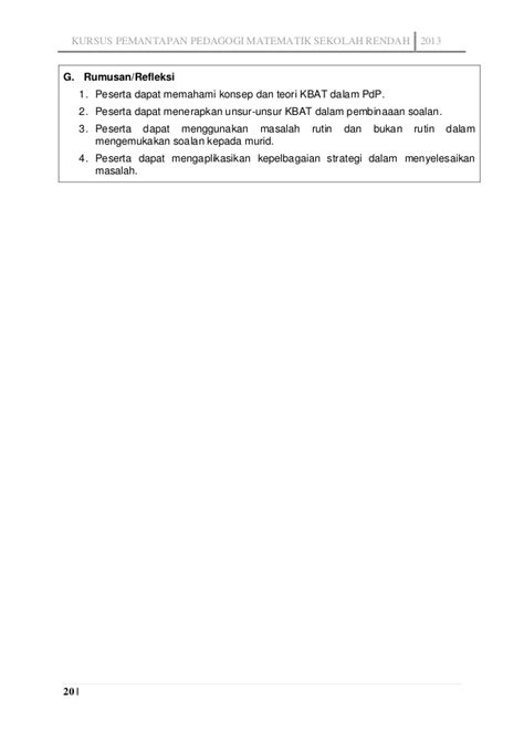 format laporan akhir pdp contoh laporan kbt in house