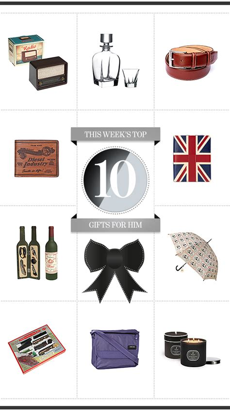 top 10 gifts for uk top 10 gifts for him brandalley