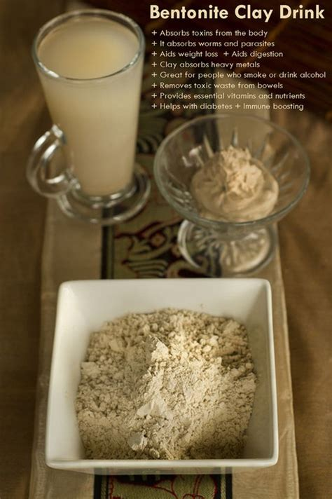 How Does It Take To Detox With Bentonite Clay by Http Www Theearthdiet Org 23 Post 2013 11 Bentonite Clay