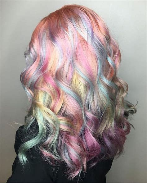pastel hair colors for women in their 30s rainbow hair 30 crazy rainbow hair color inspirations