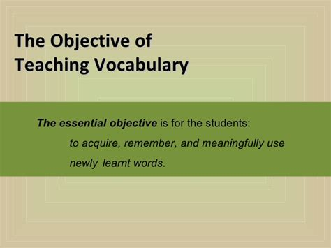Teaching Vocabulary Through Thesis by Thesis Teaching Vocabulary Through Mfacourses363