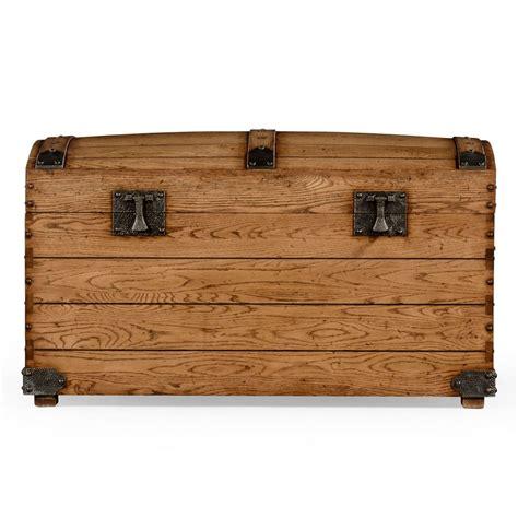Handmade Trunk - handmade oak trunk storage trunk swanky interiors