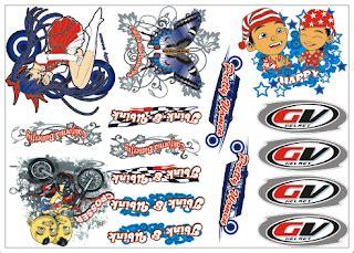 Sticker Helm Keren by Ciptakan Kreasi Dengan Stiker Air Pada Media Helm Sepeda