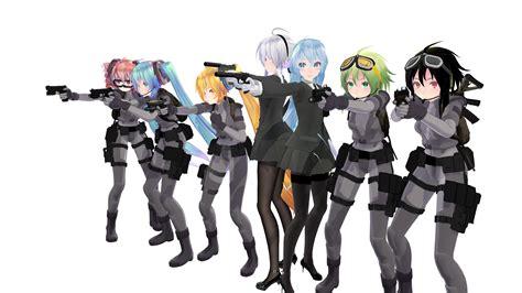anime girl wallpaper pack zip mmd pistol pack dl by johneugene on deviantart